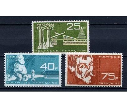 POLİNEZYA ** 1965 GAUGUIN MÜZESİ TAM SERİ (190914)