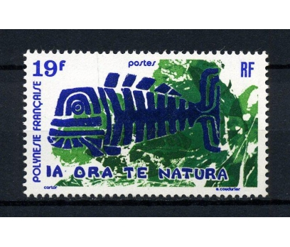 POLİNEZYA** 1971 BALIK & SANAT TAM SERİ(190914)