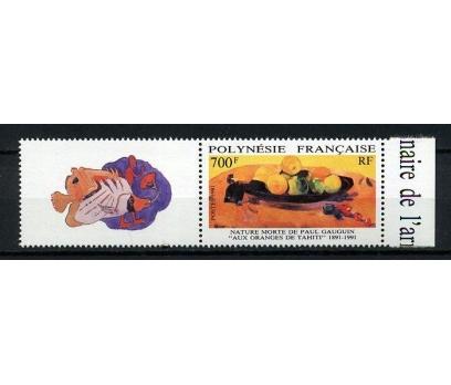 POLİNEZYA** 1991 GAUGUIN  & TABLO TAM SERİ(190914)