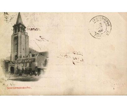 SAINT GERMAIN ** 1898 FRANSA P.G.İST.'A KP(180914)
