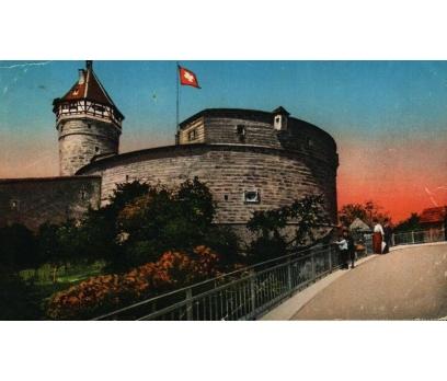 SCHAFFHAUSEN 1913 İSVİÇRE  P.G. KARTPOSTAL(130914)