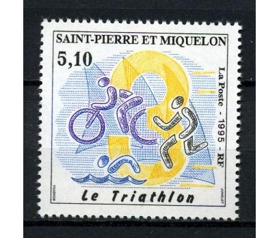 S.P.MİQUELON ** 1995 TRİATLON TAM SERİ (240914)
