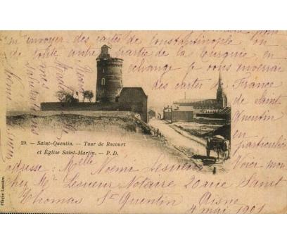 S.QUENTIN ** 1901 FRANSA P.G.İSTANBUL'A KP(180914)