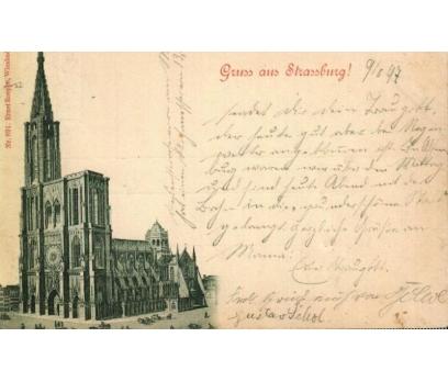 STRASSBURG 1897  REICH  P.G. KARTPOSTAL (130914)