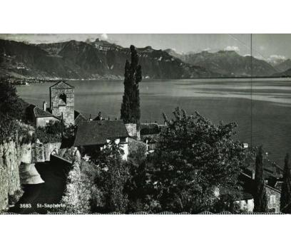 ST.SAPHORIN 1957 İSVİÇRE  PG KARTPOSTAL (130914)