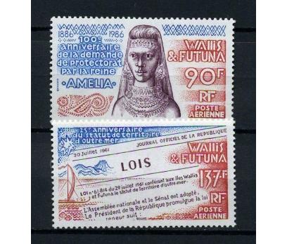 WALLIS ET FUTUNA ** 1986 AMELIA TAM SERİ (220914)