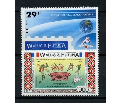WALLIS ET FUTUNA** 1989  FİLATELİ TAM SERİ(220914)