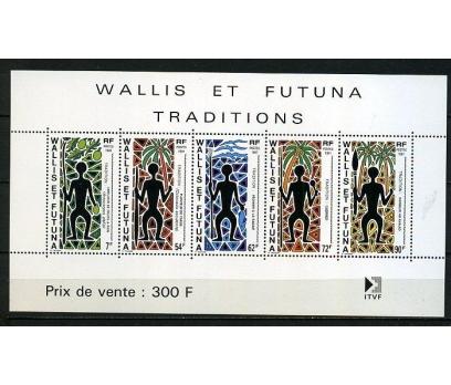 WALLIS ET FUTUNA ** 1991 FİGÜRLER BLOK (220914)