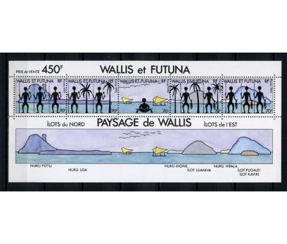 WALLIS ET FUTUNA ** 1992 FİGÜRLER BLOK (220914)