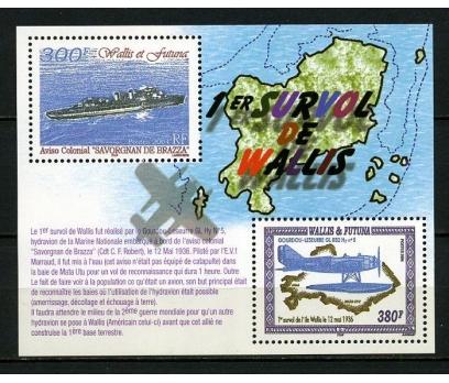 WALLIS ET FUTUNA ** 2004 GEMİ & UÇAK BLOK (230914)