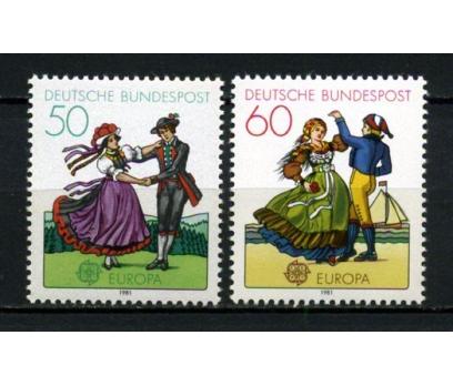 ALMANYA ** 1981 EUROPA CEPT TAM SERİ(300914)
