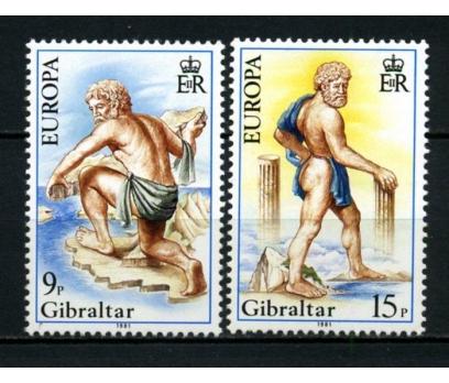 CEBELİTARIK ** 1981 EUROPA CEPT TAM SERİ(300914)