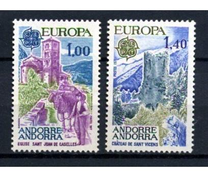 FR.ANDORRA ** 1977 EUROPA CEPT TAM SERİ(300914)