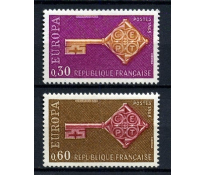 FRANSA ** 1968 EUROPA CEPT TAM SERİ(290914)