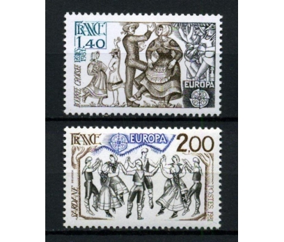 FRANSA ** 1981 EUROPA CEPT TAM SERİ(300914)