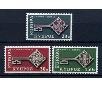 G.KIBRIS ** 1968 EUROPA CEPT TAM SERİ(290914)