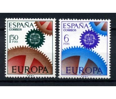 İSPANYA ** 1967 EUROPA CEPT TAM SERİ  (290914)