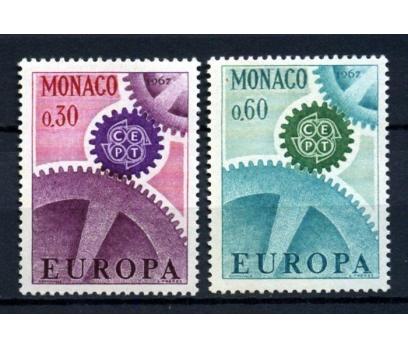 MONAKO ** 1967 EUROPA CEPT TAM SERİ(290914)