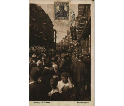 LEİPZİG 1920 REICH P.G.İSTANBUL'A KP (011014)