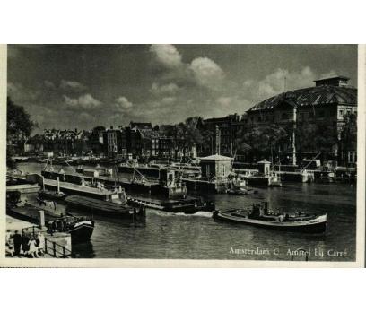 AMSTERDAM 1953 HOLLANDA P.G.İSTANBUL'A KP(011014)