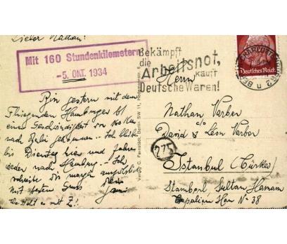 HAMBURG 1934 REICH P.G.İSTANBUL'A KP(011014) 2