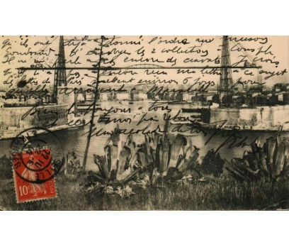 MARSİLYA 1910 FRANSA P.G.İSTANBUL'A KP(011014)