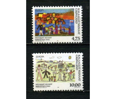 GRÖNLAND ** 1998 EUROPA CEPT TAM SERİ (031014)