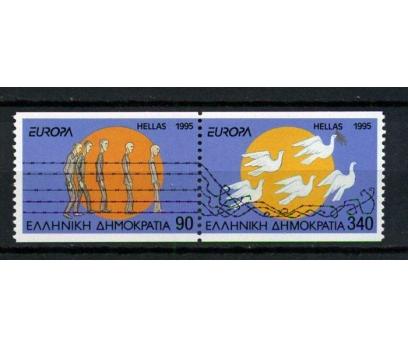 YUNANİSTAN ** 1995 EUROPA CEPT TAM SERİ (021014)