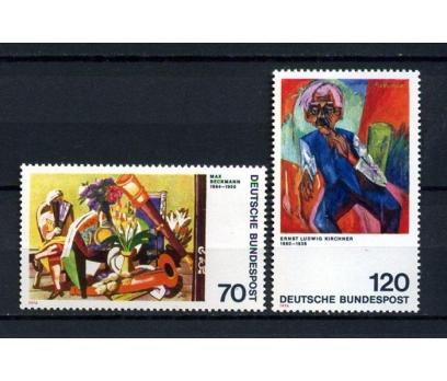 ALMANYA ** 1974 TABLOLAR TAM SERİ SÜPER (061014)