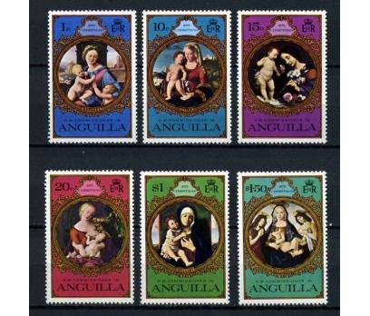 ANGUİLLA ** 1975 TABLOLAR & CHRISTM.TAM S.(101014)