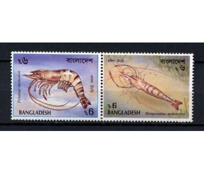 BENGALDEŞ ** 1991 KARİDESLER TAM SERİ (041014)