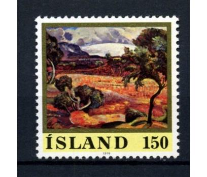 İZLANDA ** 1976 TABLO TAM SERİ (061014)