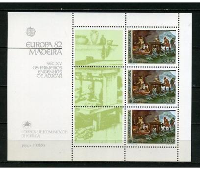 POR. MADEİRA  ** 1982  EUROPA CEPT BLOK (101014)