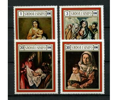 SAMOA ** 1969 TABLOLAR & CHRISTM.TAM S.(101014)