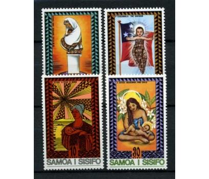 SAMOA ** 1975 TABLOLAR & CHRISTM.TAM S.(101014)
