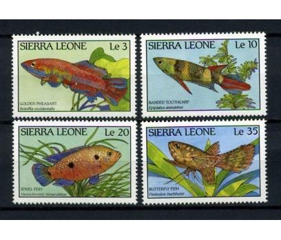 SİERRA LEONE ** 1988 BALIKLAR TAM SERİ (051014)
