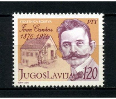 YUGOSLAVYA ** 1976 IVAN CANKAR TAM SERİ (081014)