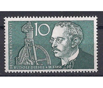 1958 Almanya R. Diesel Damgasız**