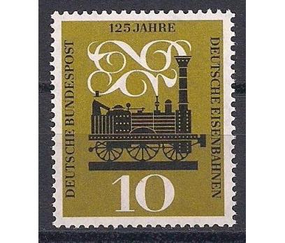 1960 Almanya Demiryolları 125.yıl Damgasız**