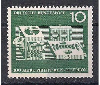 1961 Almanya Reis Telefon Damgasız**