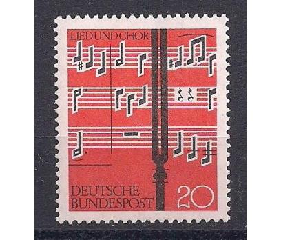 1962 Almanya Müzik Festivali Damgasız**