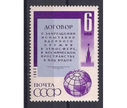 1963 Sovyet Rusya Nükleer Test Antlaşma Damgasız**