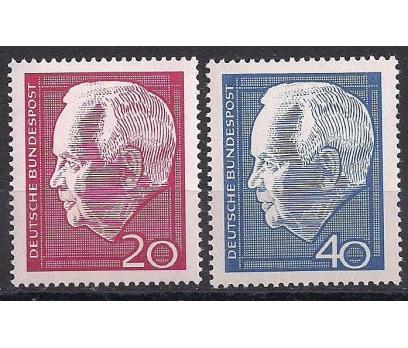 1964 Almanya Başkan Lubke Damgasız**