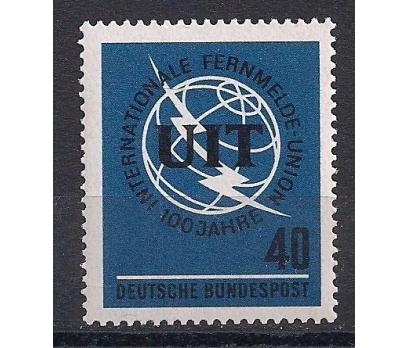 1965 Almanya ITU yüzüncü yıl Damgasız**