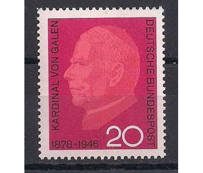 1966 Almanya Clemens August Damgasız**