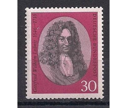 1966 Almanya G.W. Leibniz Damgasız**