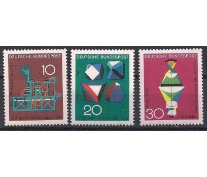 1968 Almanya Bilim ve Teknik Damgasız**