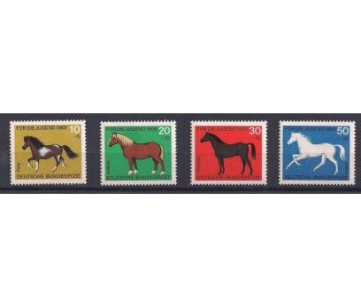 1969 Almanya Atlar Damgasız**