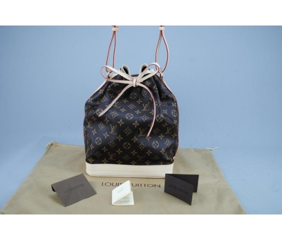 LOUIS VUITTON MONOGRAM CANVAS NOE VEJİTAL DERİ