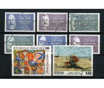 FRANSA DAMGALI 1987  3 TAM SERİ (021214)